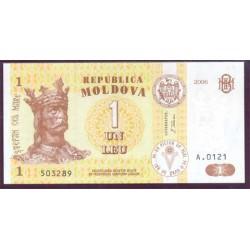 Moldavia 1 Leu PK 8h (2.006) S/C