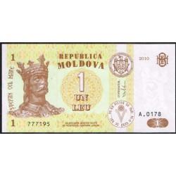 Moldavia 1 Leu PK 8i (2.010) S/C