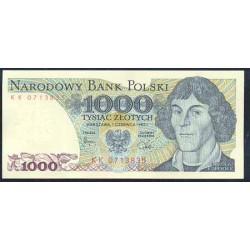 Polonia 1000 Zlotych PK 146c (1-6-1.982) S/C