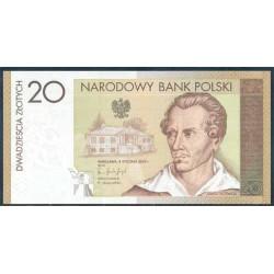 Polonia 20 Zlotych PK 180 (8-1-2.009) S/C
