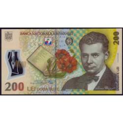 Rumanía 200 Lei Pk 122b (01-12-2.006/2.009) S/C