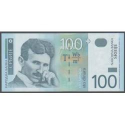 Serbia 100 Dinares PK 41 (2.003) S/C