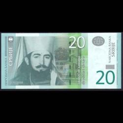 Serbia 20 Dinares PK 55 (2.011) S/C