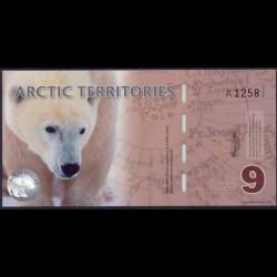 Territorios Articos 9 Dólares (2.012) S/C
