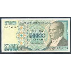 Turquía 50.000 Liras PK 204 (1.995) S/C