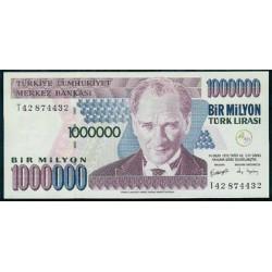 Turquía 1.000.000 Liras PK 213 (2.002) S/C