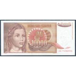 Yugoslavia 10.000 Dinares PK 116 (1.992) S/C