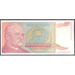 Yugoslavia 500.000.000.000 Dinares PK 137 (1.993) S/C