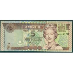 Fiji 5 Dólares Pk 105b (2.002) S/C