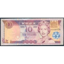 Fiji 10 Dólares Pk 106 (2.002) S/C