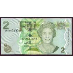 Fiji 2 Dólares Pk 109a (2.007) S/C