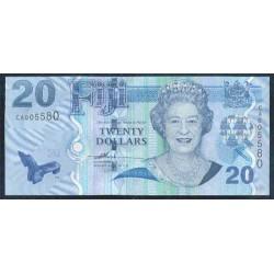 Fiji 20 Dólares Pk 112 (2.007) S/C