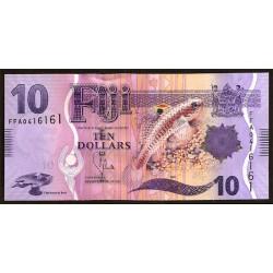 Fiji 10 Dólares Pk 116 (2.013) S/C