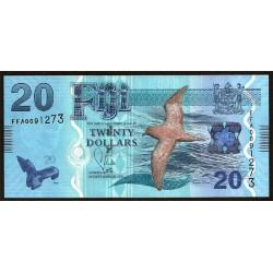 Fiji 20 Dólares Pk 117 (2.013) S/C