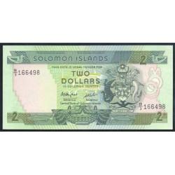Islas Salomón 2 Dólares Pk 13 (1.986) S/C