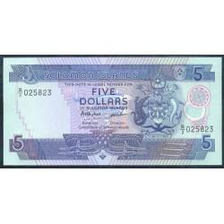 Islas Salomón 5 Dólares Pk 14 (1.986) S/C