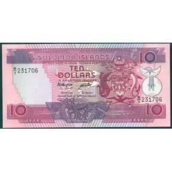 Islas Salomón 10 Dólares Pk 15 (1.986) S/C