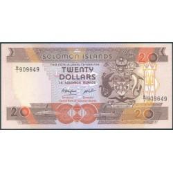 Islas Salomón 20 Dólares Pk 16 (1.986) S/C