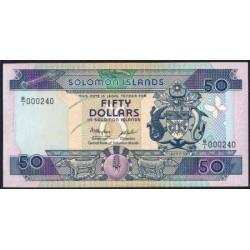 Islas Salomón 50 Dólares PK 17 (1.986) S/C