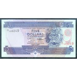 Islas Salomón 5 Dólares Pk 19 (1.997) S/C