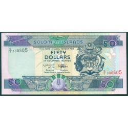 Islas Salomón 50 Dólares PK 22 (1.996) S/C