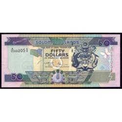 Islas Salomón 50 Dólares Pk 24 (2.001) S/C