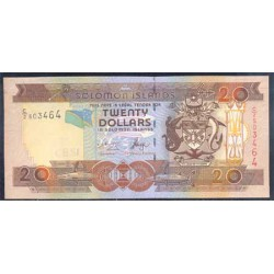 Islas Salomón 20 Dólares PK 28 (1) (2.006) S/C