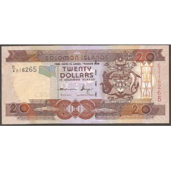 Islas Salomón 20 Dólares PK 28 (2) (2.009) S/C