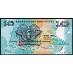Papúa Nueva Guinea 10 Kina PK 9b (1.988) S/C