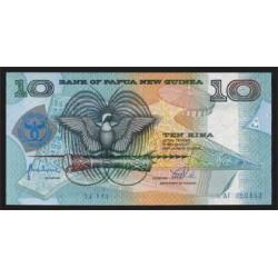 Papúa Nueva Guinea 10 Kina PK 17 (1.998) S/C