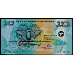 Papúa Nueva Guinea 10 Kina Pk 26 (2.002) S/C