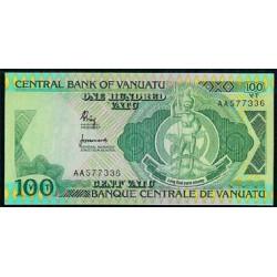 Vanuatu 100 Vatu Pk 1 (1.982) S/C