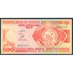 Vanuatu 500 Vatu Pk 5 (1.993) S/C