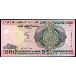 Vanuatu 1.000 Vatu Pk 10b (2.002) S/C