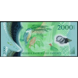 Vanuatu 2.000 Vatu Pk 16 (2.014) S/C