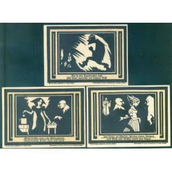 Auerbach 3 de 75 Pfennig (3,4 y 5) (1-7-1.921) KL 51 Lote 2 de 2 S/C-