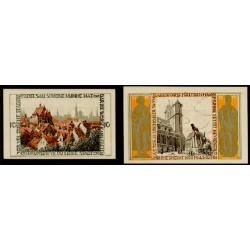 Braunshweig 10 y 25 Pfennig (1-5-1.921) KL 147b Lote 1 de 2 S/C-