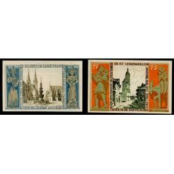 Braunshweig 50 y 75 Pfennig (1-5-1.921) KL 147b Lote 2 de 2 S/C-
