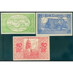 Diepholz 10,25 y 50 Pfennig. (1-9-1.920) KL 264a S/C-