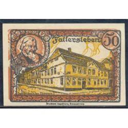 Fallersleben 50 Pfennig (1-10-1.921) KL 346 Lote 3 de 3 S/C-