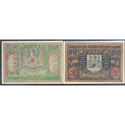 Finterwalde 25 y 50 Pfennig (7-1.920) KL 348 Lote 1 de 2 S/C-
