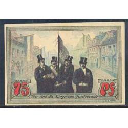 Finterwalde 75 Pfennig (7-1.920) KL 348 Lote 2 de 2 S/C-