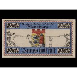 Flensburg 25 Pfennig (16-1-1.920) KL 355b S/C-