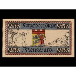 Flensburg 25 Pfennig (16-1-1.920) KL 355c S/C-
