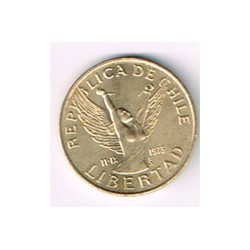 Chile 1986 5 Pesos (Libertad) S/C