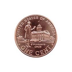 "Estados Unidos 2009 1 Centavo P (3) ""Senado de Illinois"" S/C"