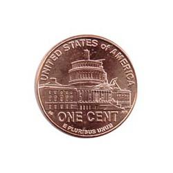 "Estados Unidos 2009 1 Centavo P (4) ""Capitolio"" S/C"