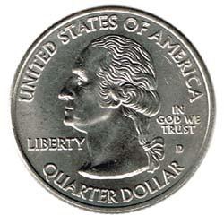 Estados Unidos (Estados) 2009 1/4 Dólar Letra D (Puerto Rico) S/C