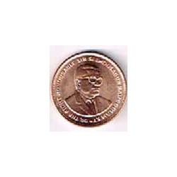 Mauritus 2007 5 Cents. UNC