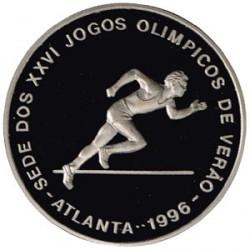 Santo Tomé y Príncipe 1997 1000 Dobras (Atlanta 96, Corredor) S/C
